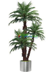 Üçlü Palmiye Ağaç 180 cm + 230 cm + 280 cm