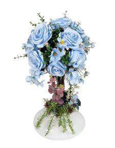 Mavi Gül Aranjman