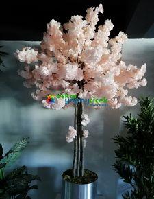 Yapay açık pembe sakura ağaç