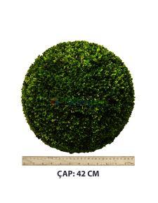 Yapay Top Şimşir 42 cm Çap