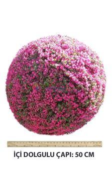 Yapay Kiraz Çiçeği Top şimşir