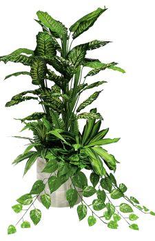 Çeşitli yapay bitkilerden yapay bitki düzenleme