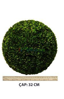 Yapay Top Şimşir 32 cm çap